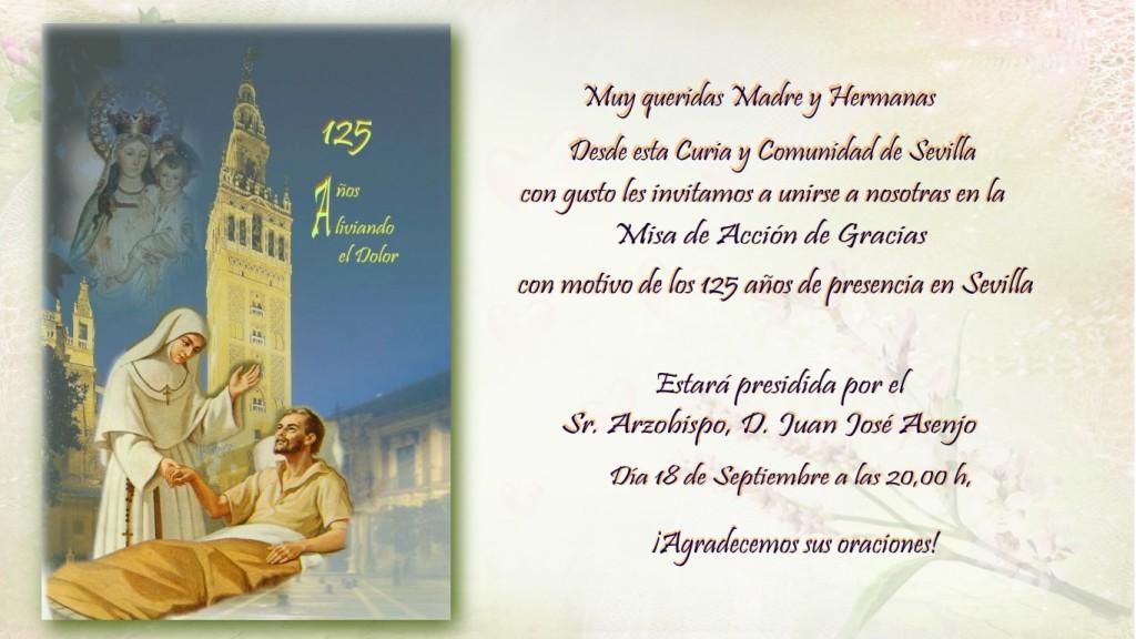 invitacion, 125 Aniversario