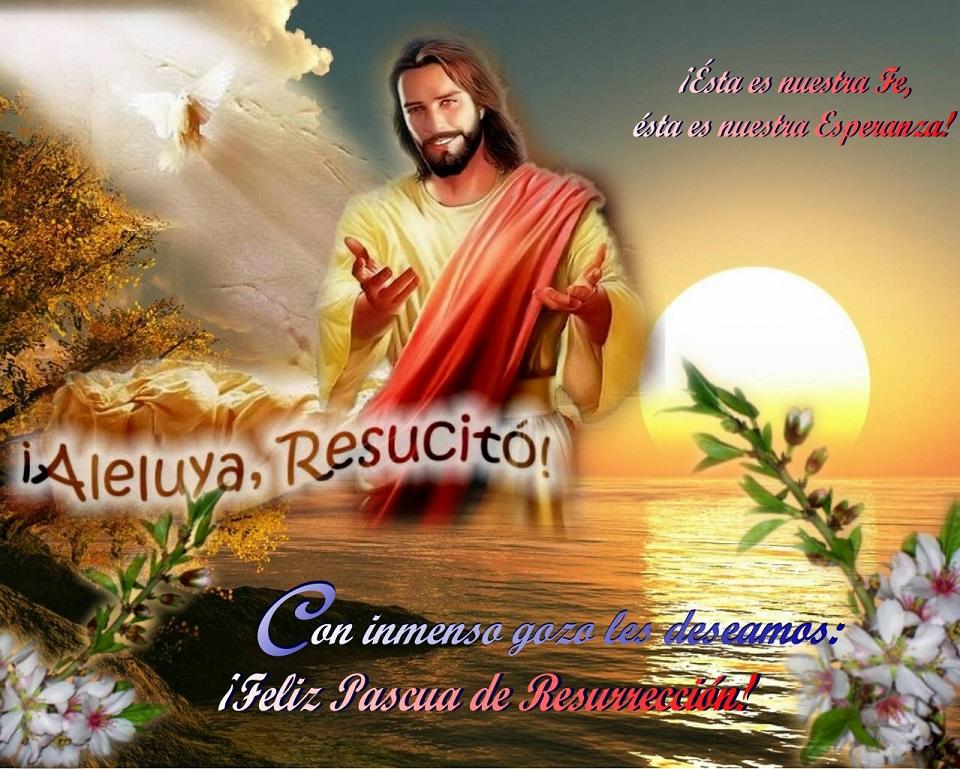 Feliz Pascua De Resurrección Siervas De Maria